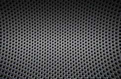 Pattern of metal background Stock Photography