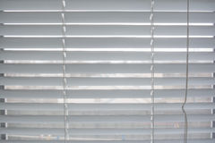 Pattern of metal louver Stock Photo