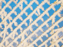 Pattern metal plate Royalty Free Stock Photography