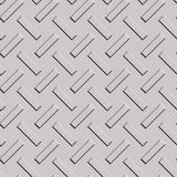 Pattern on metal plate  Stock Photography