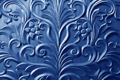 Pattern on a metal plate material Stock Image