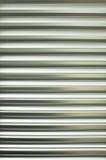 Pattern of metal slat Stock Image