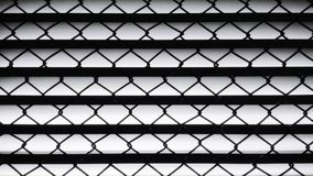 Pattern of metal. Pattern of the wire mesh of the vents Royalty Free Stock Images