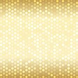 Seamless pattern with small spots. Pattern with mixed small spots on golden color. Seamless  background Royalty Free Stock Photography