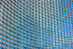 Pattern in modern architecture Royalty Free Stock Images