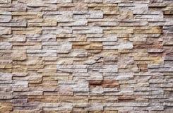 Pattern of modern brick wall Stock Photos