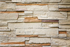 Pattern of Modern Brick Wall Royalty Free Stock Photos