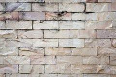 Pattern of Modern Brick Wall Stock Photography