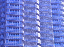 The pattern of modern building Royalty Free Stock Photo