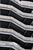 Pattern of modern building stairs Stock Photography