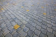 Pattern of modern paving tiles. Diminishing perspective. Pattern of modern paving tiles. Diminishing perspective view royalty free stock photography