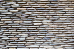 Pattern modern style design decorative cracked real stone wall Royalty Free Stock Photography