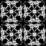 The pattern of monograms. Royalty Free Stock Images