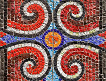 Pattern from a mosaic Royalty Free Stock Images