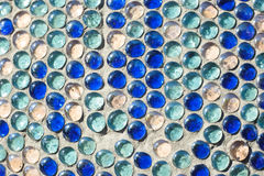 Pattern mosaic texture. Image of a mosaic texture Stock Photography