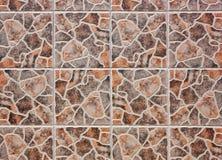 Pattern of mosaic tiles Stock Photos