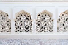 Pattern on a Mosque, Dubai, UAE Royalty Free Stock Image