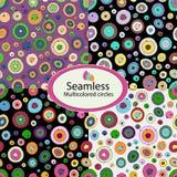 Pattern 07 Multicolored circles vector illustration