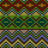 Pattern with multicolored elements Stock Photo