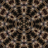 Pattern of Multiple fireworks on the night sky Royalty Free Stock Photo