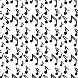 Pattern with music. Vector illustration  Printed materials, textiles, design web sites Royalty Free Stock Photography