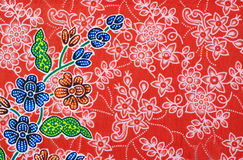 Pattern of native cloths Royalty Free Stock Photo