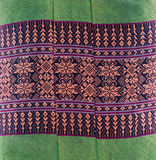 Pattern of native cloths. Pattern of Thailand native cloths Stock Images