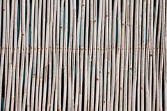Pattern native Thai style bamboo wall Stock Photos