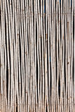Pattern native Thai style bamboo wall Royalty Free Stock Photography