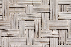 Pattern native Thai style bamboo wall Royalty Free Stock Images