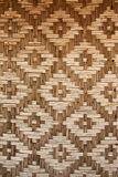 Pattern native Thai style bamboo wall Royalty Free Stock Image