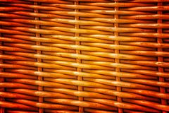 Pattern nature for background of handicraft weave texture wicker Royalty Free Stock Photo