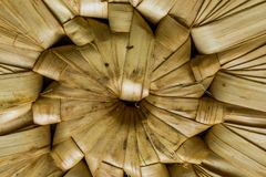 Pattern nature for background of handicraft weave texture wicker Royalty Free Stock Photography