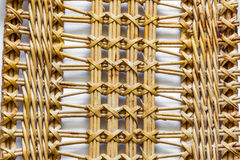 Pattern nature for background of handicraft weave texture wicker Stock Photography