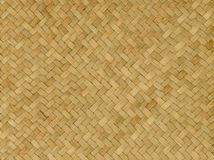 Pattern nature background of handicraft weave texture wicker Stock Image