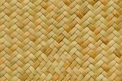 Pattern nature background of handicraft weave texture wicker Royalty Free Stock Photos