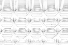 Pattern nature for background of handicraft weave white texture. Wicker surface. Closeup view Royalty Free Stock Images