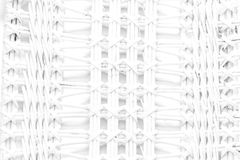 Pattern nature for background of handicraft weave white texture Stock Photos