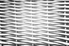 Pattern nature for background of handicraft weave white texture. Wicker surface. Darker from the centre Stock Photography