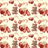 Pattern new year Royalty Free Stock Photos