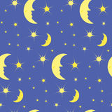 The pattern of the night sky Stock Image