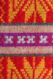 Pattern Northeast Thailand. Patterns of fabric woven in the Northeast of Thailand Royalty Free Stock Photography