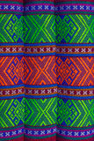 Pattern Northeast Thailand. Pattern is a pillow of Northeast Thailand.Traditional hand-woven cloth that is Stock Photos