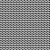 Pattern with number six Stock Photos