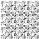 Pattern of O's Stock Photos