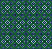Pattern from octagonal stars Stock Image