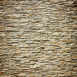 Pattern Of Decorative Slate Stone Wall Royalty Free Stock Photos