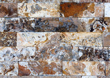 Free Pattern Of Marble Stone Decorative Brick Wall Texture And Background Stock Photo - 85098740
