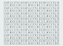 Free Pattern Of Radio Elements Stock Photos - 9439593