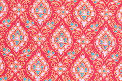 Pattern Of Thai Silk Fabric Stock Images
